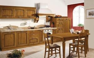 Bucatarii - Bucatarie  classiche-in-legno-1